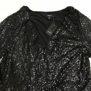 bf0efef40bc63 torrid Jackets   Coats - ☀️Host Pick☀ NWT Sz 2 Torrid Black Sequin